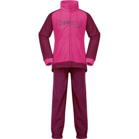 Bergans Smådøl Set Kids beet red/raspberry